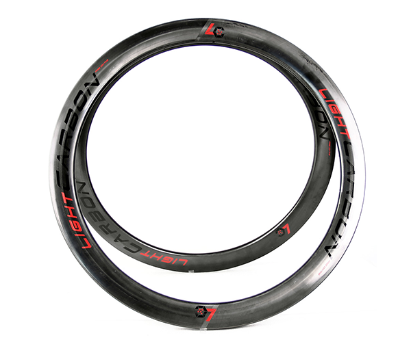 carbon rims customized logo