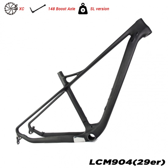 Quadro completo do hardtail do carbono 29er