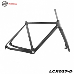 quadro de cyclocross de carbono